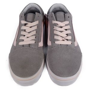 Vans Shoes - VANS Old Skool Suede (Grey / Heavenly Pink)